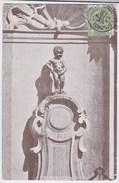 Bruxelles Cpa  Manneken-Pis Anno 1908 - Monuments, édifices