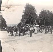 Photo Ancienne Originale Animée Remise De Médailles Défilé 1914 1918 Ww1  Grande Guerre - Guerre, Militaire