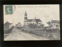 35 Ste Anne Sur Vilaine L'église & Route Du Grand Fougeray édit. Lacroix N° 497 - France