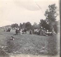 Photo Ancienne Originale Animée Un Attelages  1914 1918 Ww1  Grande Guerre - Guerre, Militaire
