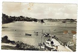 PORT MANECH - Un Coin Du Port, La Plage  - Circulée 1951- Scans Recto Verso - Format 9 X 14 - France