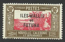Wallis And Futuna, 90 C. 1939, Sc # 66, MNH - Wallis And Futuna