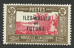 Wallis And Futuna, 90 C. 1939, Sc # 66, MNH - Unused Stamps