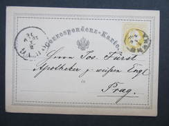 GANZSACHE Krems  - Wien 1876 //  D*22044 - Briefe U. Dokumente