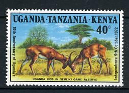 1972 - UGANDA TANZANIA KENIA -  Catg. Mi. 242A - NH - (CAT85635.14) - Uganda (1962-...)
