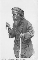 ETHNIQUE - ASIE / Tibet - Photo Card - Tibetan Mendicant Aged 84 Years - Tibet