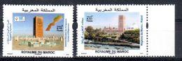 1.10.2013; Sommet Mondial Des Dirigeants Locaux Et Régionaux, YT 1674 + 1675, Bneuf **, Lot 47030 - Morocco (1956-...)