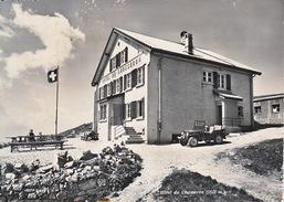 Hotel Du Chasseron / Prop. P. Weiss-Tille / Photo Ed. A Dériaz, Baumes. Jeep. Non écrite - VD Vaud