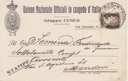 UNIONE NAZIONALE UFFICIALI IN CONGEDO D'ITALIA - GRUPPO CUNEO - Militaria