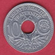 France 10 Centimes Lindauer 1941 - FDC - D. 10 Centimes