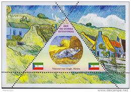 Impressionists Vincent Van Gogh  1  Sheet   TRIANGULAR STAMP LIMITED EDITION Mint   CINDERELLA - Impressionisme