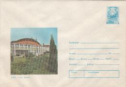 54623- MIZIL- TOHANI FARM, COVER STATIONERY, 1981, ROMANIA - Entiers Postaux