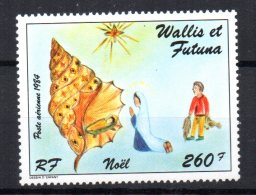 Wallis & Futuna - 1984 - Christmas Airmail - MNH - Wallis-Et-Futuna