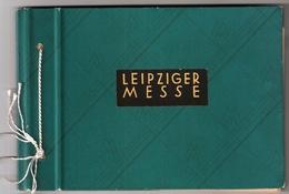 1947-48, Leipziger Messe, Gedenkheft   , #6917 - Gemeinschaftsausgaben
