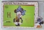 Disney Classics Cartoon Minnie Mouse,China 2013 Set Of 6 Greeting From Minnie Lottery Award Postal Stationery Card - Disney