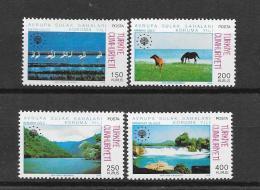 Turkiye  1976  Mi. Nr 2391/2394 (**) - Turkménistan