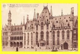 * Brugge - Bruges (West Vlaanderen) * (Albert, Nr 8) Gouvernementspaleis Et De Post, Post Office, La Poste, Grand'Place - Brugge