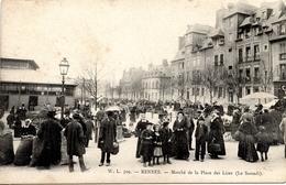 """35 RENNES """"Marché De La Place Des Lices (le Samedi)"""" - Rennes"""