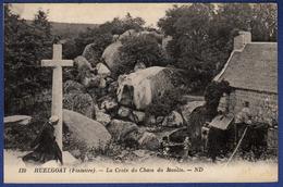 29 HUELGOAT La Croix Du Chaos Du Moulin - Animée - Huelgoat