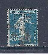 Y Et T  N° 140  Perforé   M  B  20  Ind 8 ( E C ) - France
