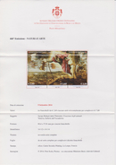 SMOM Sovereign Order Of Malta 2014 Brochure About Paintings - Creation Of The Animals - Tintoretto - Malta (Orde Van)