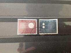 Noorwegen / Norway - Complete Serie 100 Jaar ITU 1965 - Gebruikt
