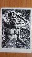 """Slave Rebellion"" By Beltran  - Old Soviet Postcard  - PAINTERS AGAINST COLONIALISM Serie 1962 Negro - Sátiras"