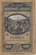 GUIDE COSYN Vers 1920 - DURBUY Par Maurice COSYN - Culture