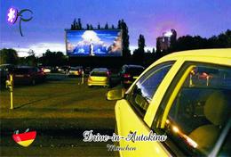 Carte Postale, Salle De Spectacles, Movie Theatre In Germany, München, Drive-in-Autokino - Cinema