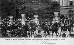 Postcard / ROYALTY / Belgium / Belgique / Prince Albert / Princesse Elisabeth / Bruxelles / 1900 / Avec Roi Leopold II - Familles Royales