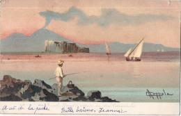 Napoli Par Illustrateur TTB  Stamped 1903 - Napoli