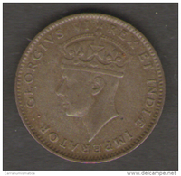 EAST AFRICA 50 CENTS 1937 - Monete