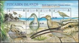 Pitcairn Islands 2005 Bloc Feuillet Oiseau Courlis D'Alaska Neuf ** - Timbres