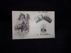 Vesoul. Souvenir.Idéal Pour Début D ' Album. Fait Titre. Petite Filleb . - Vesoul
