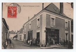 LUZILLE ( Indre Et Loire- 37 ), - Route De Chenonceaux à Loches.- Bon état - Très Belle Animation. - Autres Communes