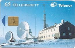 Svalbard - Telenor - Isfjord Radio - N-075 - 05.1996, 16.000ex, Used