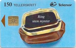 Norway - Telenor - Brun Pung - N-083b - 08.1996, 25.000ex, Used - Norwegen