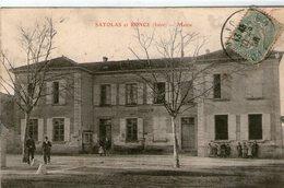 (4) CPA  Satolas  Et Ronce  Mairie  (bon Etat) - Sonstige Gemeinden