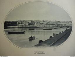 Maroc , Vue De Tanger 1914 - Documents Historiques