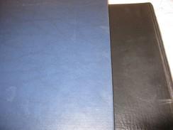 Lindner Bogenalbum Mit 30 Blätter Für 60 Bogen,mit Schuber,gebraucht,Bogengröße 26x30 Cm - Klemmbinder