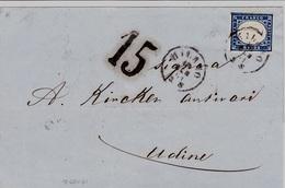 COPERTA CON C. 20  IN  DATA  19/1/1861  - Vedi E Leggi- - Sardinia