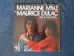 Disque 33 T - MARIANNE MILLE Et MAURICE DULAC - Dis à Ton Fils - 1974 - BARCLAY -     (4296) - Compilations