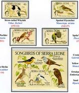 1985 - SIERRA LEONE - Mi. Nr. 789/792 + Block 27 -  NH - ( **) - (K-EA-361388.9) - Sierra Leone (1961-...)