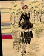 FRANCE - Carte Postale Fait Main ... Dessin Ou Aquarelle - P20873 - Postales