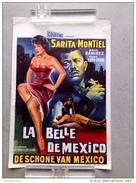 """Sarita Montiel """"la Belle De Mexico """" Raul Ramirez ,affiche Ancienne 1956 - Affiches & Posters"""
