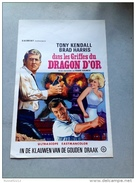 """Tony Kendall """"dans Les Griffes Du Dragon D ´or """"Brad Harris 1965 Affiche Ancienne - Affiches & Posters"""