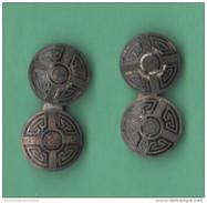 Gemelli Da Polso Boutons De Manchette Silver Cufflinks - Gioielli & Orologeria
