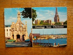 Angleterre , Sussex , Chichester , Greeting From Chichester - Chichester