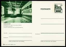 79591) BRD - Bildpostkarte P 91 - B4/31 - * Ungebraucht - 20Pf Lorsch - 4500 Osnabrück, Friedenssaal - BRD