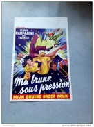 "Silvana Pampanini ""ma Brune Sous Pression""ugo Tognazzi 1951 Affiche Ancienne - Affiches & Posters"